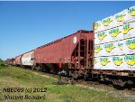 BNSF Covered Hopper 434818 on the CN 403 West.